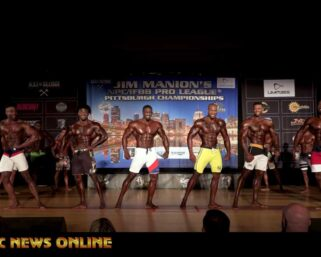 2021 Jim Manion's IFBB Pittsburgh Pro Men's Physique First & Last Comparisons & Awards Presentations 156 views•May 6, 2021