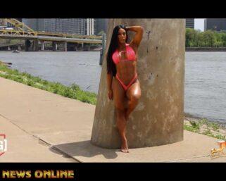2021 IFBB New York Pro Wellness Champion Yarishna Ayala Pittsburgh Wellness Photo Shoot
