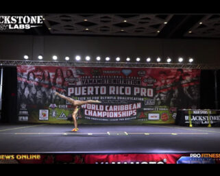 2021 IFBB Professional League Puerto Rico Pro Fitness All Routines