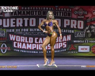 2021 IFBB Professional League Puerto Rico Pro Wellness Top 5 Posing Routine Videos