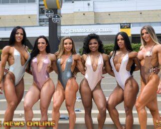 IFBB Pittsburgh Pro Wellness Group Photo Shoot Video