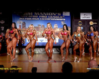 2021 Jim Manion's IFBB Pittsburgh Pro Women's Divisions PPV Replay FREE