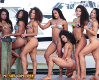 CURLY HAIR PHOTO SHOOT – MIAMI BEACH Day 2 – Part 2 – On A Boat