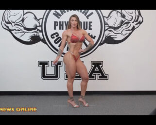 NPC NEWS ONLINE 2021 ROAD TO THE OLYMPIA – Angela Borges Posing