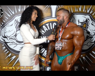 2021 14th Annual IFBB Professional League Tampa Pro Saturday Overall Winners Interviews