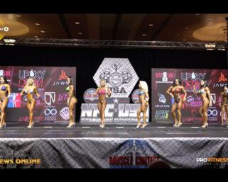 2021 NPC USA Championships Videos: First Callout & Awards For Wellness
