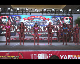 2021 IFBB Tampa Pro Top 3 Individual Women's Bodybuilding Posing Videos & Women's Bodybuilding First Call Out, Last Call Out & Awards Videos