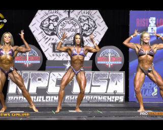 2021 NPC USA Championships Videos: First Callout & Awards For Women's Physique