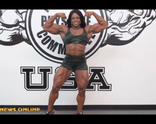 NPC NEWS ONLINE 2021 ROAD TO THE OLYMPIA – 2020 IFBB Ms. Olympia Andrea Shaw Sneak Peek Posing