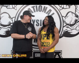NPC NEWS ONLINE 2021 ROAD TO THE OLYMPIA – 2020 IFBB Ms. Olympia Andrea Shaw Interview