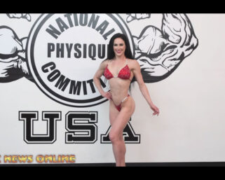 NPC NEWS ONLINE 2021 ROAD TO THE OLYMPIA & ARNOLD – 3x IFBB Bikini Olympia Ashley Kaltwasser Posing Practice