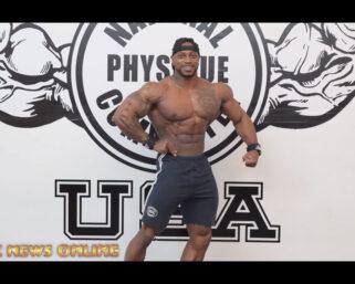 NPC NEWS ONLINE 2021 ROAD TO THE OLYMPIA – 2-Time IFBB Men's Physique Olympia Brandon Hendrickson Sneak Peek Posing