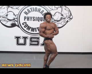 NPC NEWS ONLINE 2021 ROAD TO THE OLYMPIA – 2-Time IFBB Classic Physique Olympia Breon Ansley Sneak Peek Posing