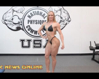 NPC NEWS ONLINE 2021 ROAD TO THE OLYMPIA – Casey DeLong Posing Practice