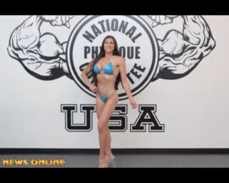 NPC NEWS ONLINE 2021 ROAD TO THE OLYMPIA – Lauren Dannenmiller Posing Practice