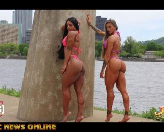 IFBB Pittsburgh Pro Wellness Duo's Photo Shoot Video