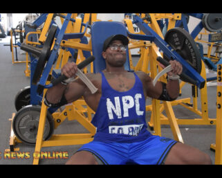NPC NEWS ONLINE 2021 ROAD TO THE OLYMPIA – Erin Banks Training Video
