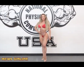 NPC NEWS ONLINE 2021 ROAD TO THE OLYMPIA – Francielle Mattos Posing Practice
