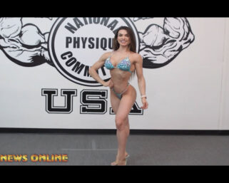 NPC NEWS ONLINE 2021 ROAD TO THE OLYMPIA / ROAD TO THE ARNOLD – Isa Pecini Posing Practice