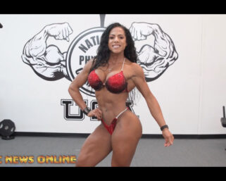 NPC NEWS ONLINE 2021 ROAD TO THE OLYMPIA – Loly Ragusa Posing Practice