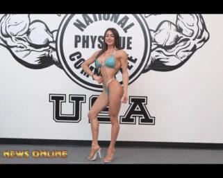 NPC NEWS ONLINE 2021 ROAD TO THE OLYMPIA – Francesca Stoico Posing Practice