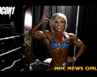 2021 IFBB Olympia Women's Physique Backstage Video
