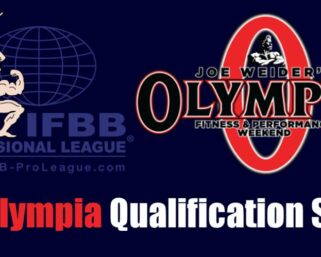 2022 Olympia Qualification System