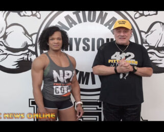 NPC NEWS ONLINE 2021 ROAD TO THE OLYMPIA – Larhannah Robinson Interview