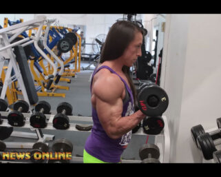 NPC NEWS ONLINE 2021 ROAD TO THE OLYMPIA – 2-Time IFBB Women's Physique Olympia Champion Sarah Villegas Road To The Olympia Training