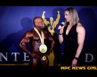 2021 IFBB Professional League Legions Sports Fest Open Overall Winners Interviews