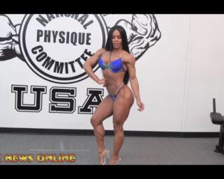 NPC NEWS ONLINE 2021 ROAD TO THE OLYMPIA – Yarishna Ayala Posing Practice
