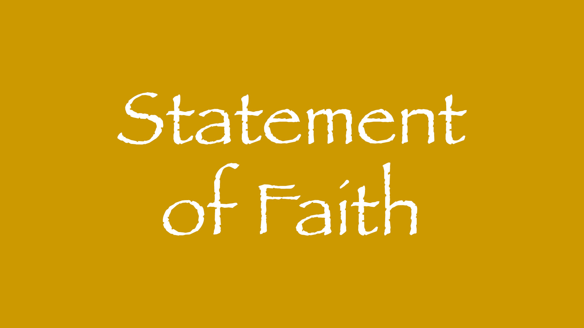 about salt ventures - statement of faith