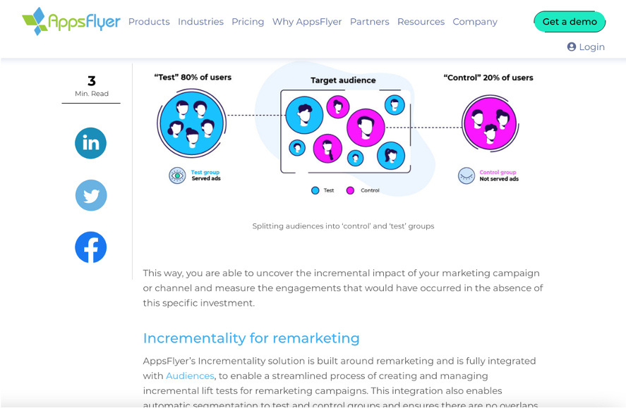 appsflyer incrementality