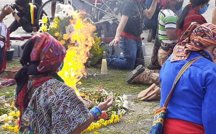 Rinden homenaje a Domingo Choc