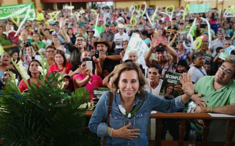 CC suspende nombramiento de Sandra Torres como Secretaria General de la UNE