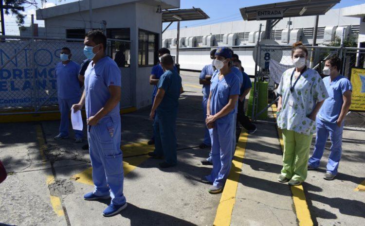 Doctora del Hospital del Parque de la Industria denuncia robo de donaciones para personal médico