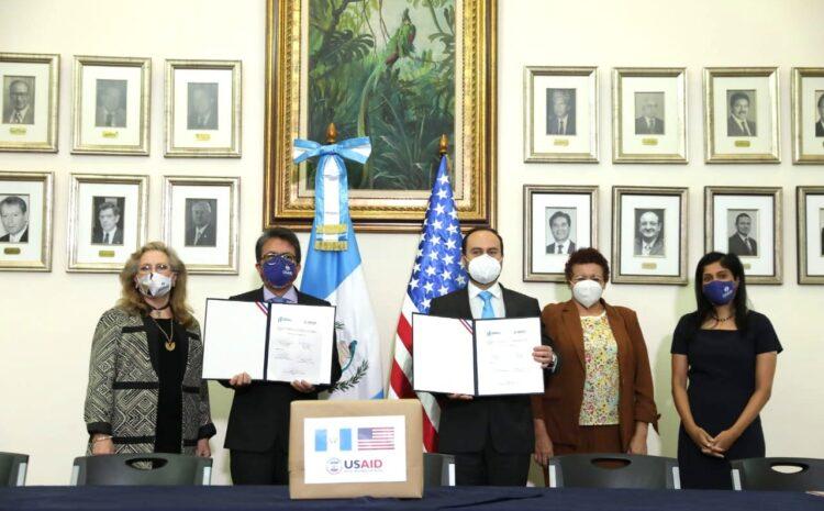 EE.UU. dona 50 ventiladores para pacientes con COVID-19