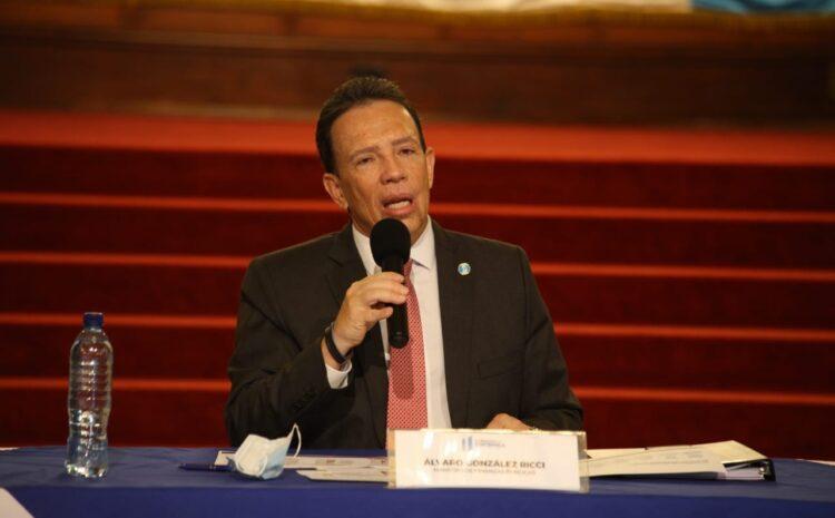 González Ricci: Se han ejecutado Q 9.4 mil millones asignados para atender la pandemia