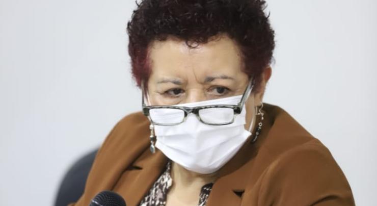 Flores: Los departamentos con personas mayores de 60 años con primera dosis de vacuna contra COVID-19 son Guatemala y Sacatepéquez