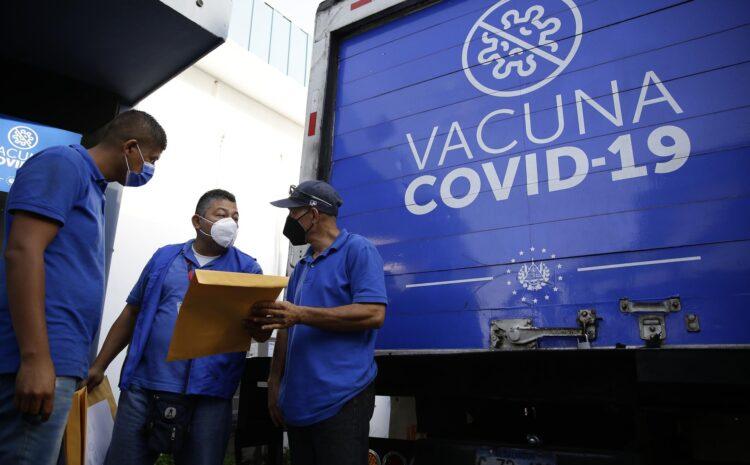 Llegan a Honduras 34.000 vacunas contra la COVID-19 donadas por El Salvador
