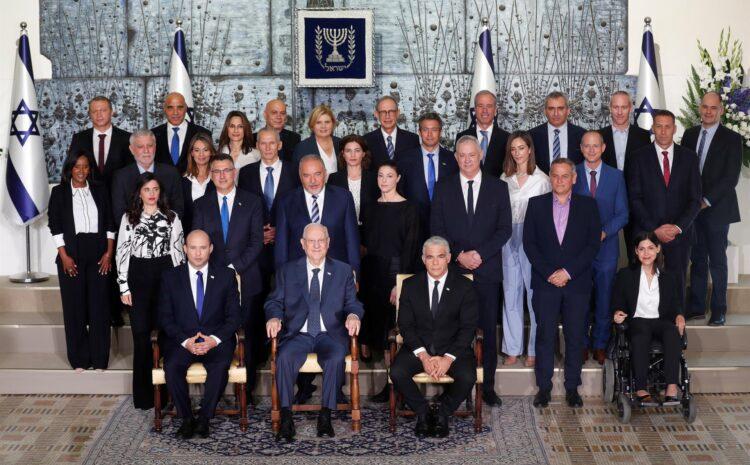 Nuevo gobierno afronta un difícil traspaso de poder en un Israel polarizado