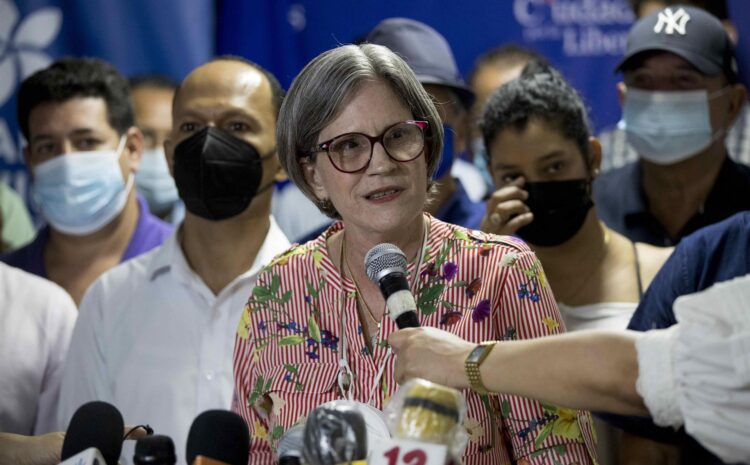 La Alianza opositora no consigue recursos de cara a las elecciones en Nicaragua