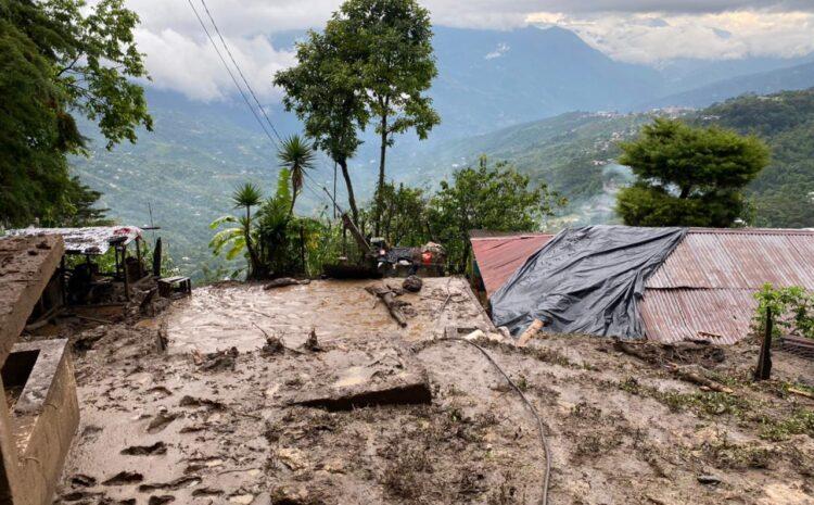 CONRED: Más de 4 mil personas afectadas en cinco departamentos a causa de las lluvias
