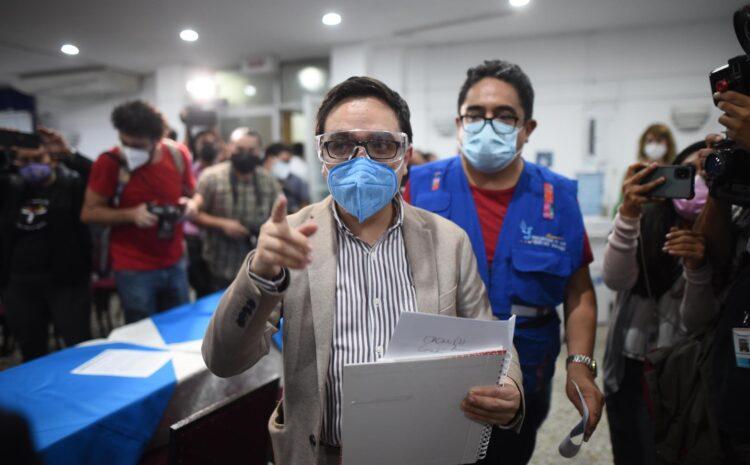 Sandoval: Porras intervino la FECI por el posible involucramiento de Giammattei en estructuras de corrupción