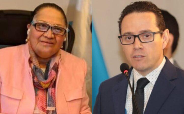 Consuelo Porras y Ángel Pineda son designados como corruptos por el Departamento de Estado