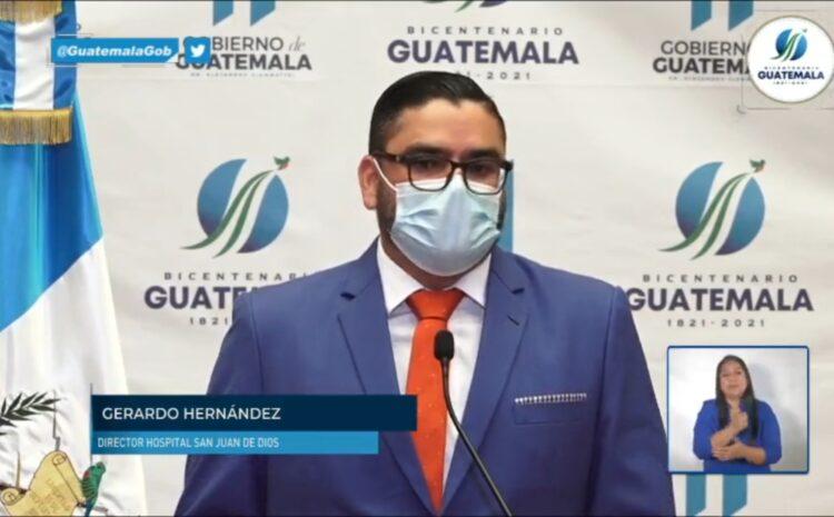 Hospital General invierte más de Q48 mil en cada paciente severo por COVID-19