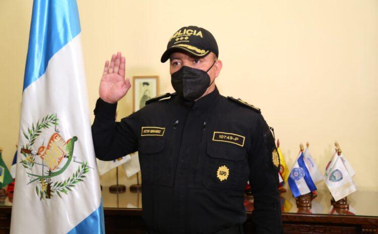 Nombran a Héctor Leonel Hernández Mendoza, como nuevo Director de la PNC