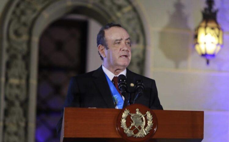 Giammattei por designación de Porras como corrupta: Es una falta de respeto a las relaciones internacionales