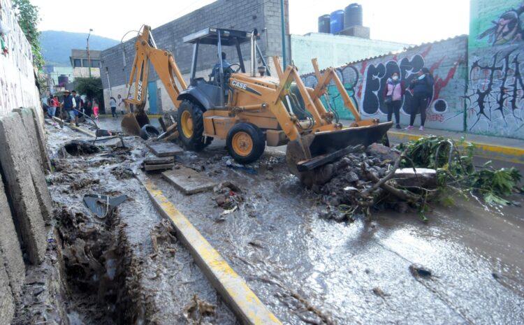 Sismo e inundaciones dejan varios muertos y miles de damnificados en México