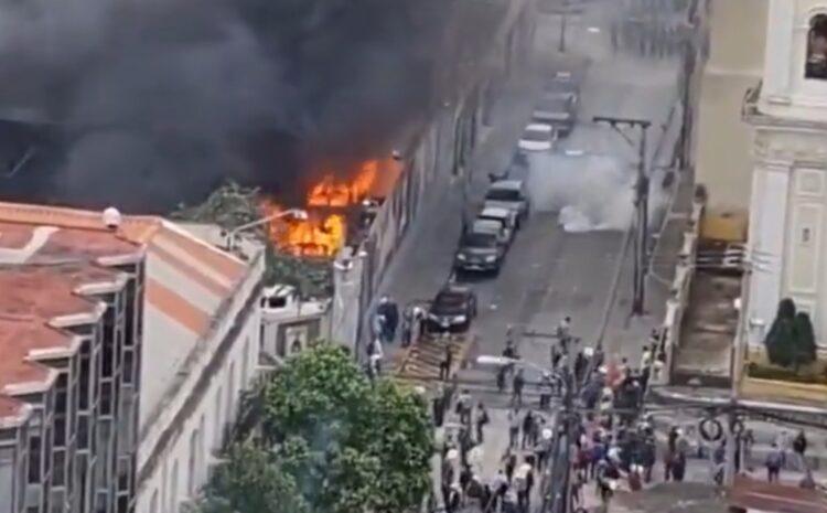 PDH abre expediente por hechos de violencia durante manifestación del 19 de octubre
